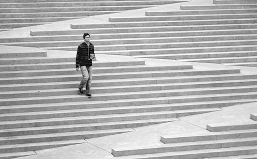 Robson Square Steps