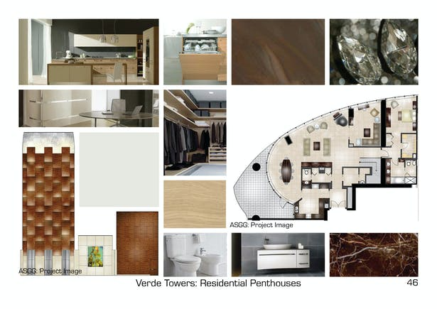 Concept and Design for Penthouses.