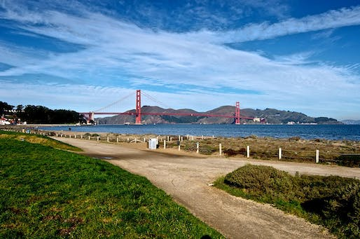 San Franciso's Crissy Field. Found via Wikimedia Commons.
