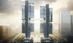Foster + Partners' new Shenzhen HQ for drone maker DJI will feature robot fighting rings