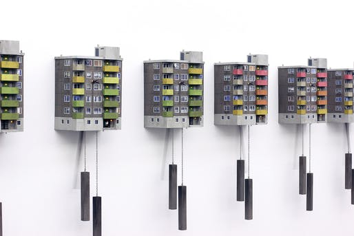 'Cuckoo Block' series by artist Guido Zimmermann. Image courtesy of Guido Zimmermann.