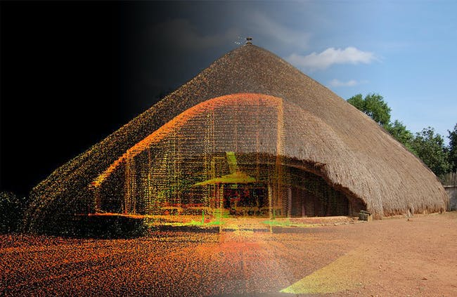 Kasubi Tombs: one of the 500 digitally preserved cultural sites. Image courtesy of CyArk.
