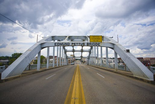 "Edmund Pettus Bridge in Selma, Alabama. Photo: Flickr user <a href=""https://www.flickr.com/photos/mtnorton/21817204748/"">Mike Norton</a>"