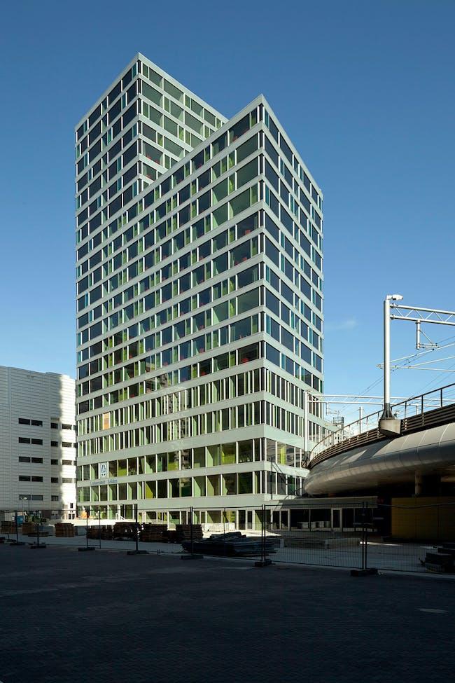 AvB Tower by Wiel Arets Architects. Photo: Jan Bitter.