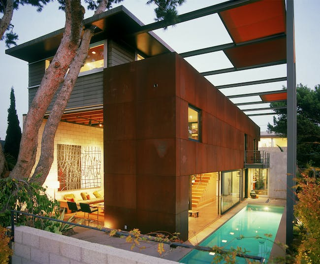700 Palms Residence, photo by Gray Crawford, courtesy of Ehrlich Architects.