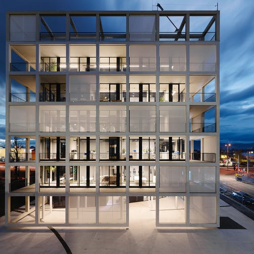 Commercial Building: INNOCAD Architecture, CUBEND C&P Corporate Office, Graz, Austria. Photo: Paul Ott.
