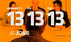 Archinect's Top 13 Jobs for '13