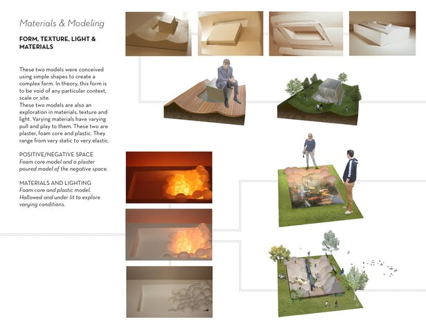 Materials & Modeling | Braden Patterson | Archinect