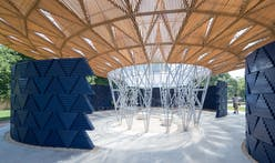 Diébédo Francis Kéré's Tree-Inspired Serpentine Pavilion Fuses Cultural African References with British Construction