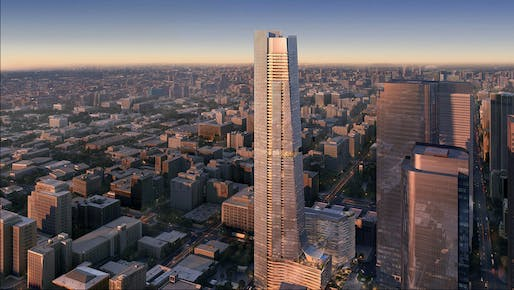 Peebles Corporation has unveiled a $500 million development fund geared toward women- and minority-led projects. Pictured: The Handel Architects-designed Angels Landing project in Los Angeles, which is partially financed by Peebles Corp.Image courtesy of Peebles Corporation.