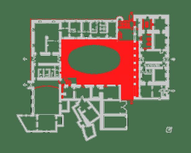 Ground floor plan Public Atelier, FUUZE