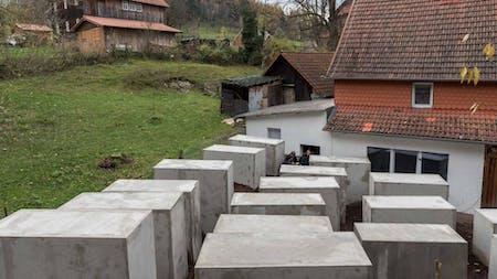 Holocaust Memorial in Bornhagen, by Zentrum für Politische Schönheit.
