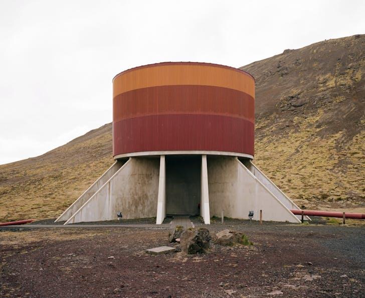 Svartsengi Power Station, Orkustofnun, Grindavik, Iceland. Photo by Neal Johnson.
