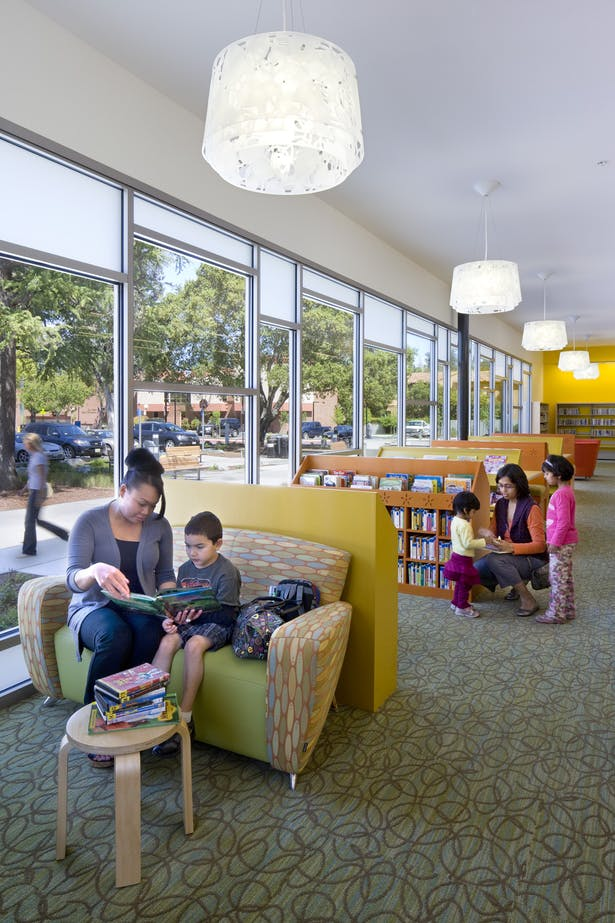 Los Gatos Library (David Wakely Photography)