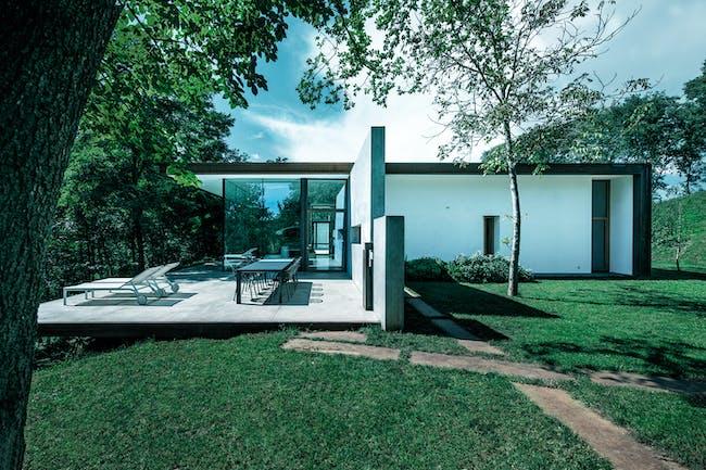 2015 LEAF Awards shortlist - Architect Robby Cantarutti, Riverside Cabin, Firmano - Premariacco (UD), Italy. Photo courtesy LEAF Awards.