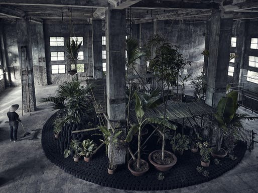'Vu'òn - The Garden' by Bureau A. Photo: Boris Zuliani