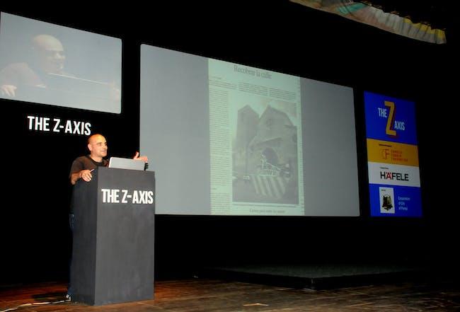 Santiago Cirugeda. Image courtesy of Z-Axis.