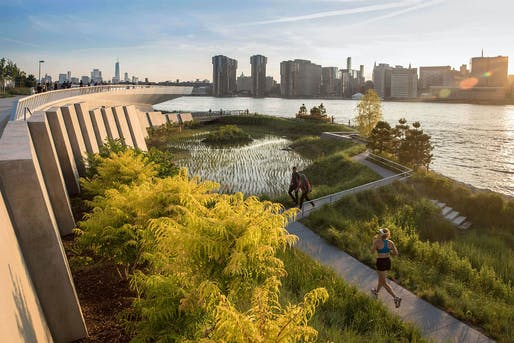Hunter's Point South Waterfront Park by Weiss/Manfredi and SWA/Balsley. Photo: Lloyd/SWA.