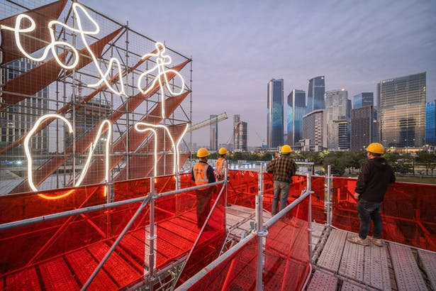 10_Qianhai Floating City_top of observation platform©️Zhang Chao
