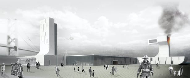 Rendering of the Station from Embarcadero