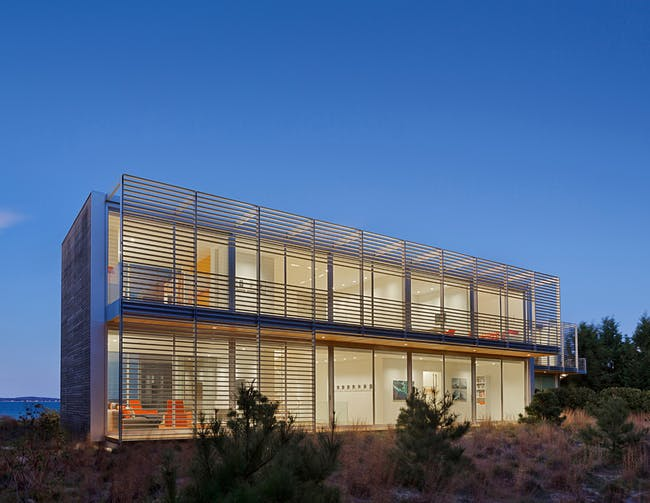 Architecture Merit Award Winner: Bay House in Noyack, NY by Roger Ferris + Partners (Image Credit: © Paúl Rivera / archphoto)