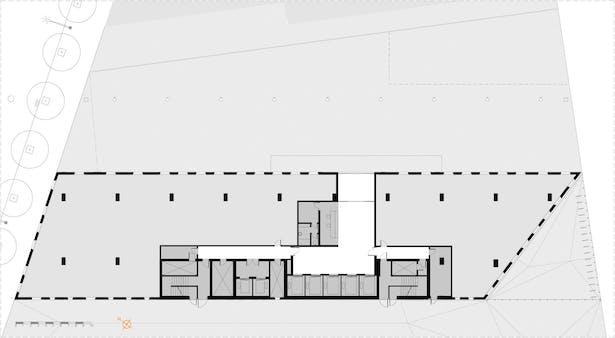 Ground Floor Level plan