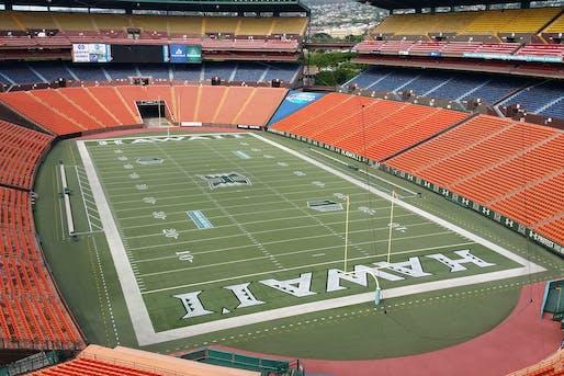 Aloha Stadium. Photo via flicker user NAVFAC.