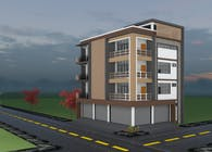 4 storey residential building in Mandalay