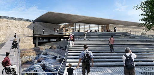 Competition Entries - Future Projects Winner: Pilbrow & Partners, New Cyprus Archaeological Museum, Nicosia, Cyprus.