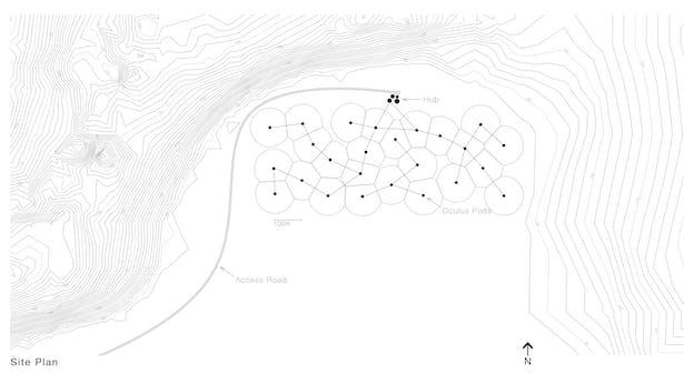 'Constallation' Site Plan