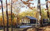 Black Houses at Hudson Woods