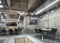 Bank Headquarter Interior Concrete Wall Design Project in Istanbul Turkey   Completed by CRETOX Concrete Panel   The ultimate lightweight concrete panel