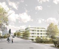 Wohnüberbauung Dübendorf (Residential development in Dübendorf)
