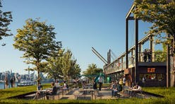 Domino Sugar Factory's waterfront park prepares for grand opening in Brooklyn