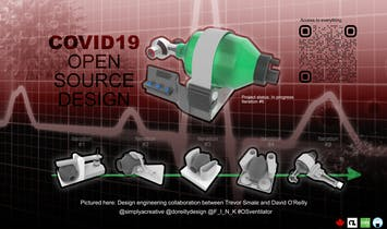 Architects and fabrication specialists join together to mitigate the COVID-19 medical supply shortage