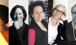 Architectural Record announces five American architects as the winners of its Women in Architecture Awards