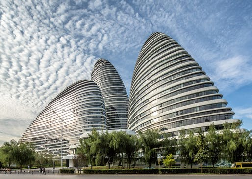 The Wangjing Soho developed by Soho China in Beijing.