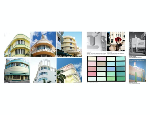 Architectural Feature and Color Studies