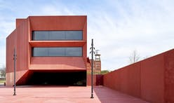 David Adjaye's red concrete art museum, Ruby City, to open in San Antonio in October