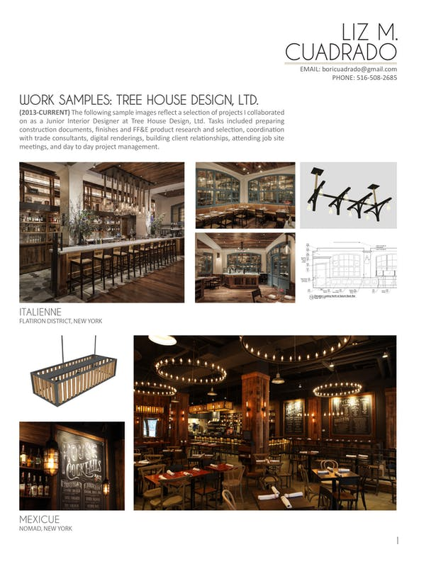 Work Samples - Tree House Design (Page 1/2)