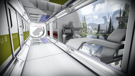 RAF-Alpha: Space Craft Interior study model