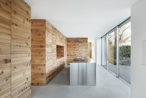 House K in Düsseldorf, Germany by Wannenmacher-Möller Architekten GmbH with XYZ Designers
