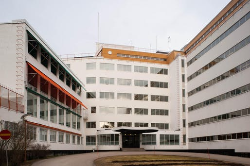 Paimio Sanatorium by Alvar Aalto, 1933, located in Paimio, Finland. Image: LeonL/Flickr.