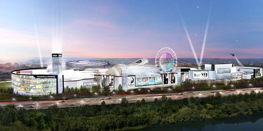 Rendering of the American Dream mall. Image courtesy of American Dream.