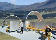 A Prefabricated, Modular, Solar Powered, Public Gathering Place