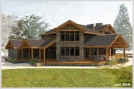 New Rural Home on Oversized Lot