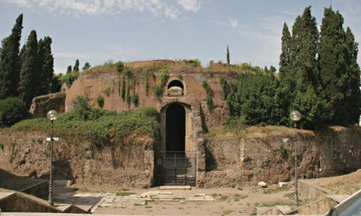 The Mausoleum of Augustus in Rome. (The Guardian; Photograph: Prisma Archivo/Alamy)