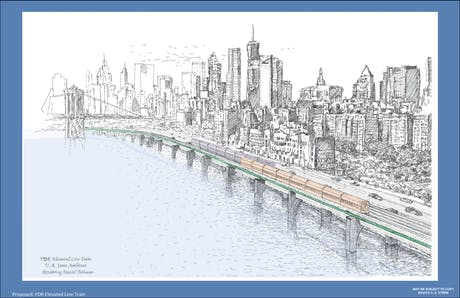 FDR Eleveted Line Train Manhattan 2