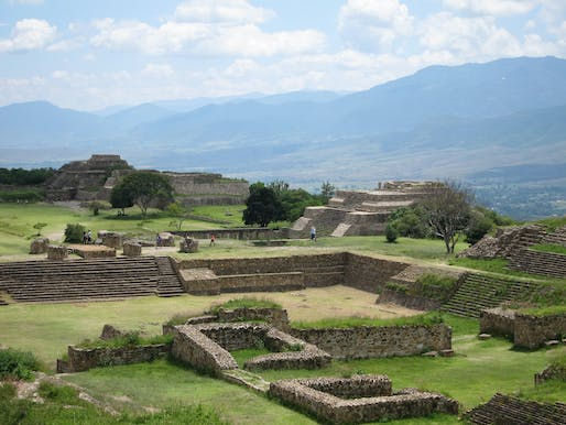 One of the eight WMF watchlist sites to receive conservation funding is the Monte Albán archaeological ruins in Oaxaca, Mexico. Photo: schizoform/Flickr