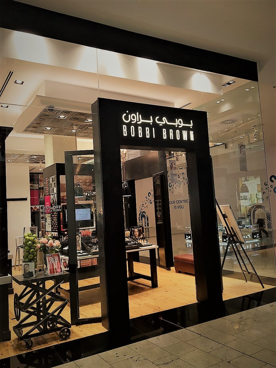 Lumibright Luminaires at Bobbi Brown Retail outlet Bahrain